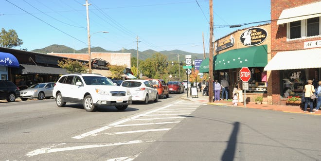 Southbound turns onto Cherry Street will soon be prohibited, as the Town of Black Mountain moves forward with plans to convert the downtown road to a one-way, northbound pattern.