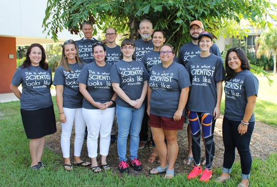 """Faculty, staff, students and alumni from Florida Tech join together to change the public perception of what scientists look like. On October 20, 2019, those who identify as scientists in Melbourne will wear a shirt saying, """"this is what a scientist looks like,"""" to raise awareness."""
