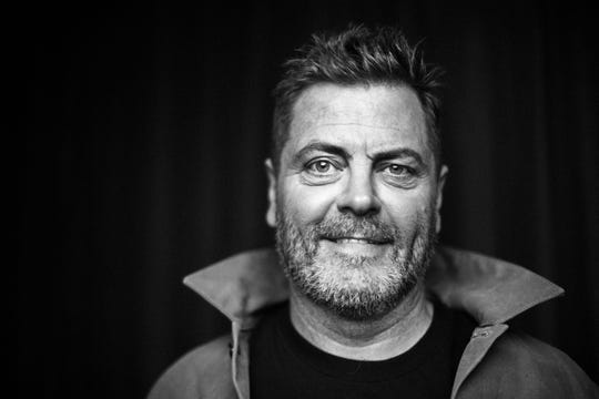 "Nick Offerman gives two performances of his ""All Rise"" show Oct. 26 in Burlington."