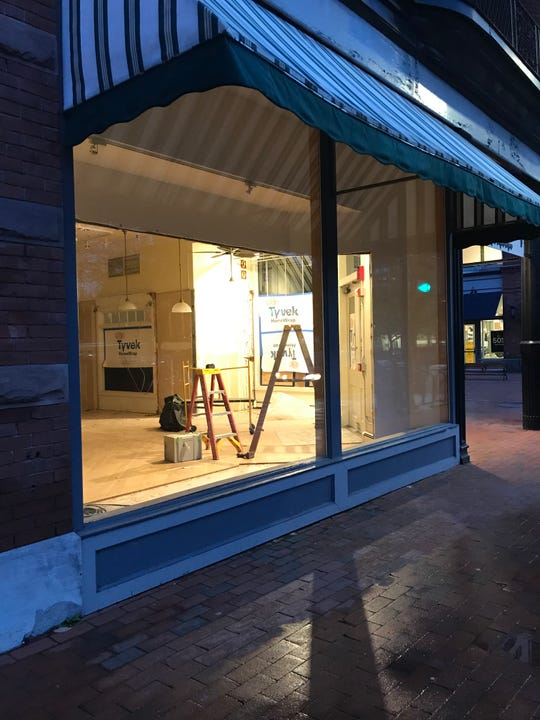 A new cafe will open on the corner of Church Street and Pearl Street. The Vintage Emporium has moved one floor below.