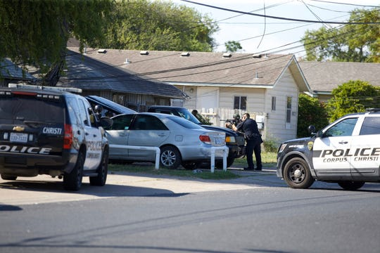 Corpus Christi police responding to a home on 16th St.