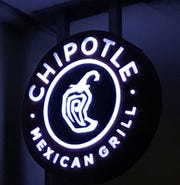 A Chipotle Mexican Grill is planned for Route 70 in Cherry Hill.