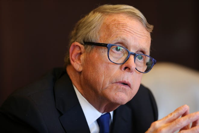 A mysterious group that is supporting Gov. Mike DeWine's gun plan has ties to the governor himself.