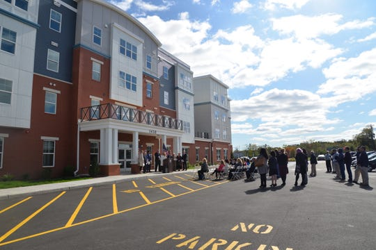 A ribbon-cutting ceremony marked the opening of Greens at Avenel, a new affordable housing community for families and special needs residentsin the Avenel section of Woodbridge.