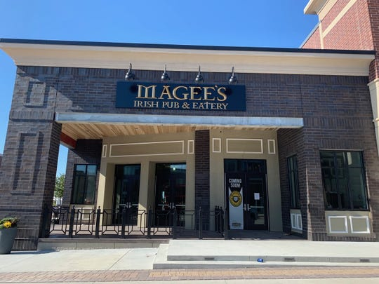 Magee's Irish Pub & Eatery, located in The District at Prairie Trail, will serve traditional Irish dishes and a bar featuring Irish, Scottish and English beers. It is expected to open in mid-December.
