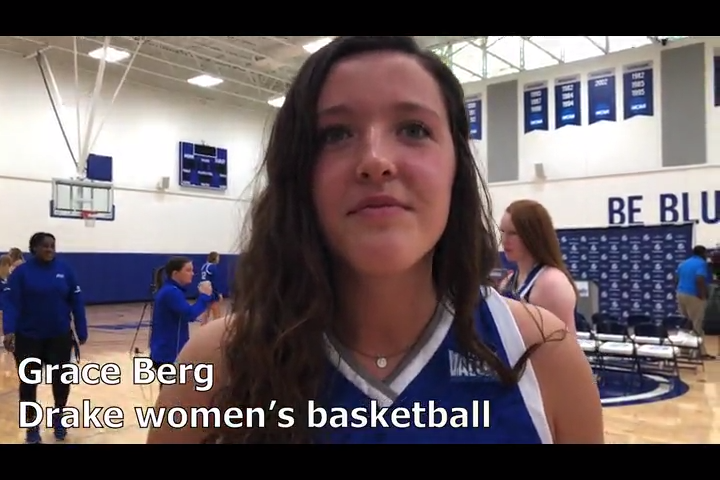 Indianola grad Grace Berg is ready to play for Drake … when the NCAA allows