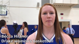 Becca Hittner discusses Drake's upcoming season and transfer Grace Berg during media day earlier this week.