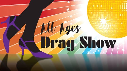 Logo for Ames Public Library All-Ages Drag Show