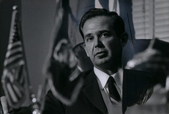 William Milliken served as 44th Governor of Michigan from 1969 to 1983.