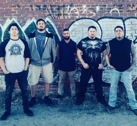 Michigan metal band Don The Pariah,