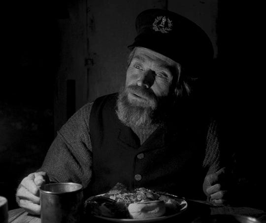 """Willem Dafoe in """"The Lighthouse."""""""