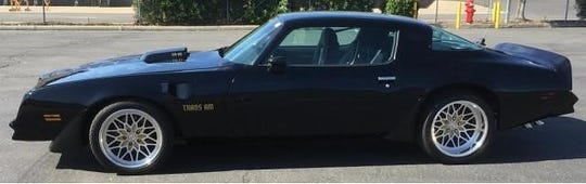 Actor Burt Reynolds once owned this 1978 Pontiac Firebird Trans Am.