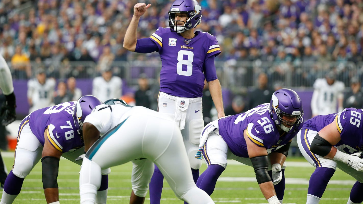 View from the other side: Lions vs. Vikings