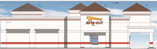 A rendering of what In-N-Out could look like if it comes to Fort Collins