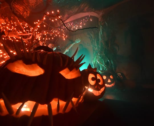 Trick-or-treaters were treated to a montage of ghoulie special effects including dry ice smoke and creepy music, at a Sturgeon Bay residence during a past Halloween night in the city.
