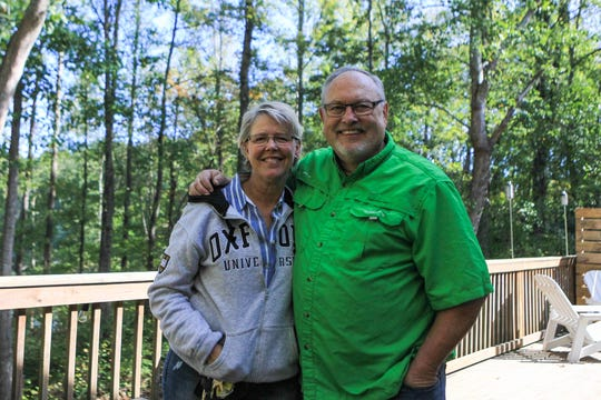 Mary Brock and her husband Don Brock operate an Airbnb off Highway 24 in Townville.