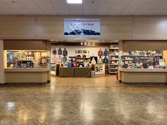 The Foot of the Cross Christian Store will be open in Holiday Village Mall until December 31.