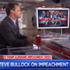 Bullock fields impeachment questions on TV news shows