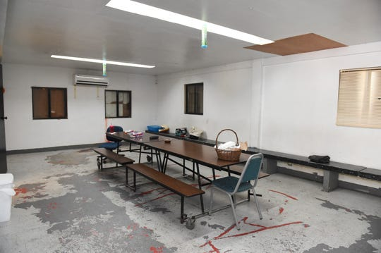 A conference room at the Umatac Mayor's Office, sometimes used as a polling site for elections, in Umatac, Oct. 18, 2019.