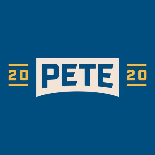 Pete Buttigieg's campaign logo