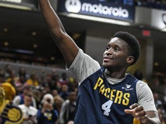 After his first 5-on-5 work since his injury, Victor Oladipo working on staying 'patient'
