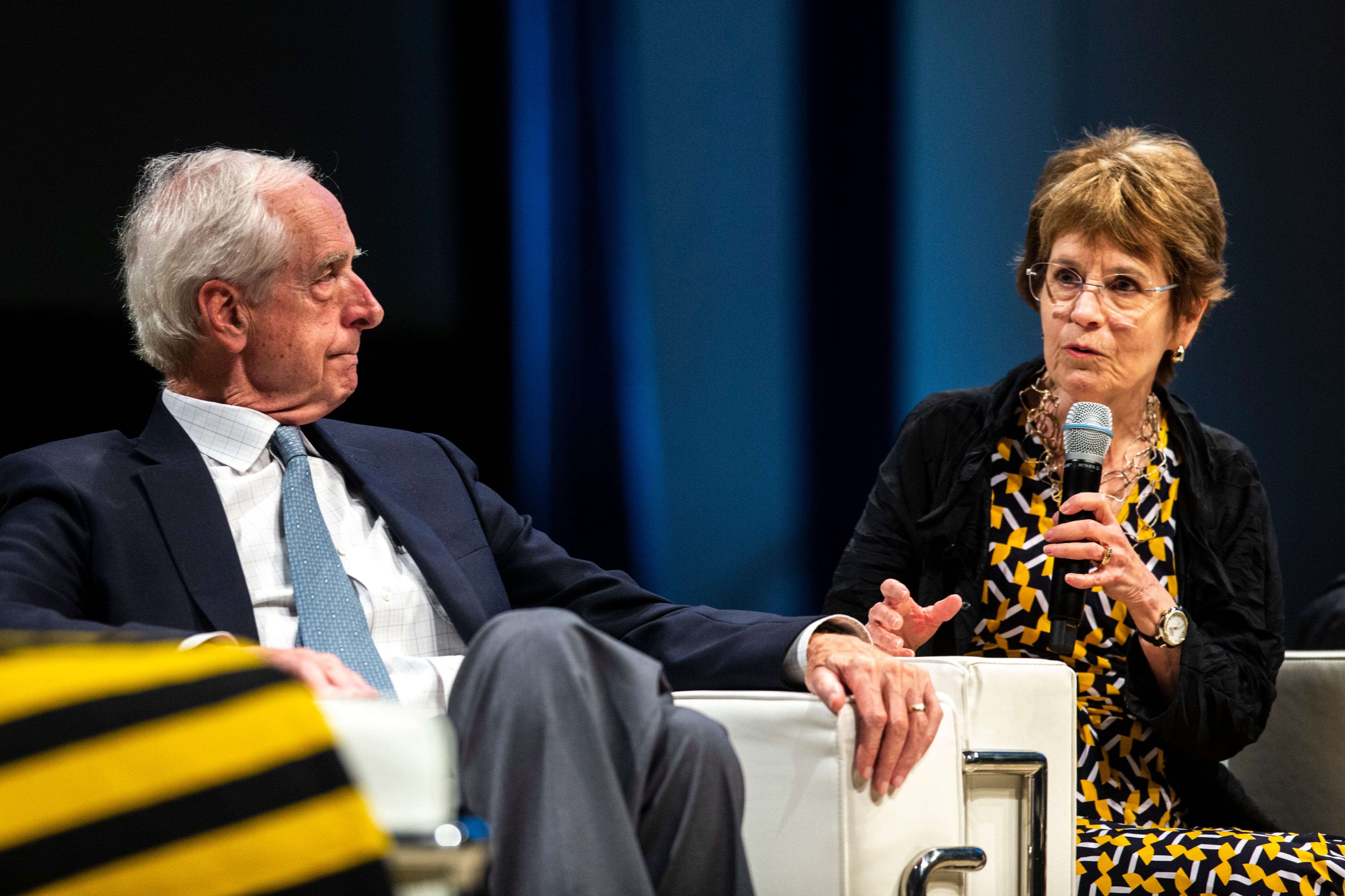 Improved, but facing more criticism: University of Iowa presidents assess state of campus