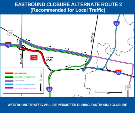 Traffic alert: I-20 East reopens, westbound lanes to close on interstate i-70 map, interstate i-80 map, united states interstate highway map, interstate i-94 map, interstate lake map, interstate hy map, interstate 40 map, us interstate map, interstate i-95 map, national interstate highway map, illinois interstate highway map, interstate i-10 map, interstate route map, interstate road map, interstate rd map,
