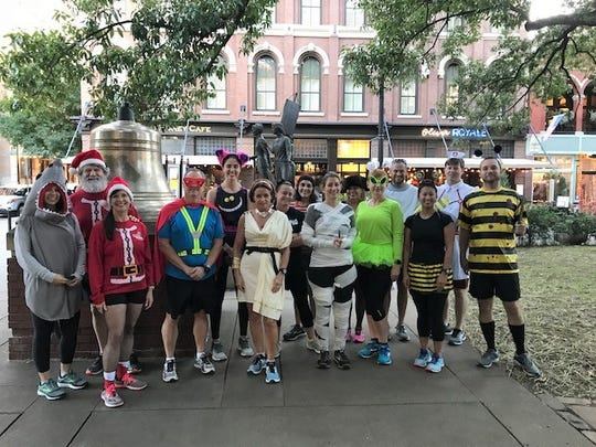 Knoxville Track & Field Club's Halloween Costume Social Run in 2018. This year's fun will start in Suttree Landing Park starting at 6 p.m. on Oct. 30. soknohalloween3a or 3b: The South Knox Spooky Halloween Party will be held again this year between 6-7 p.m. on Tues. Oct. 27 at South Knoxville Branch Library.