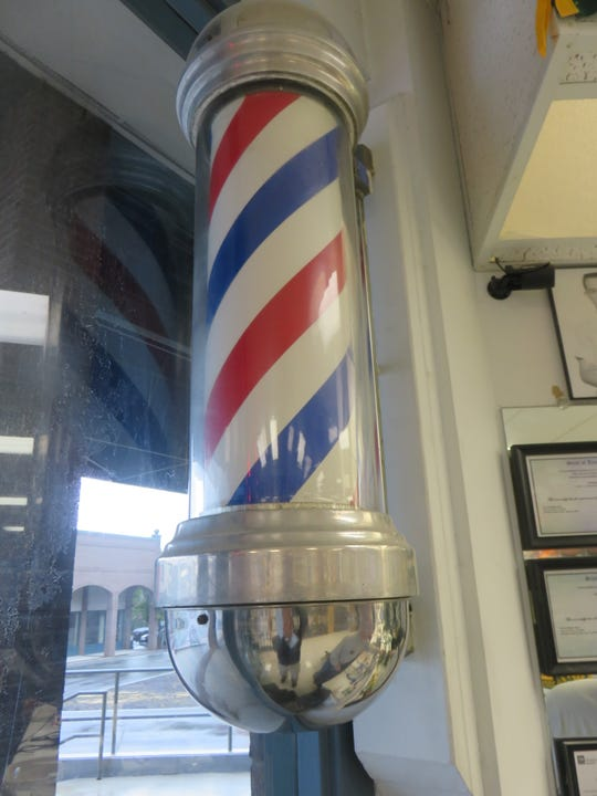 Going to the barbershop with dad was part of an education in language.