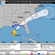 Tropical system strengthening in Gulf of Mexico as it targets coast