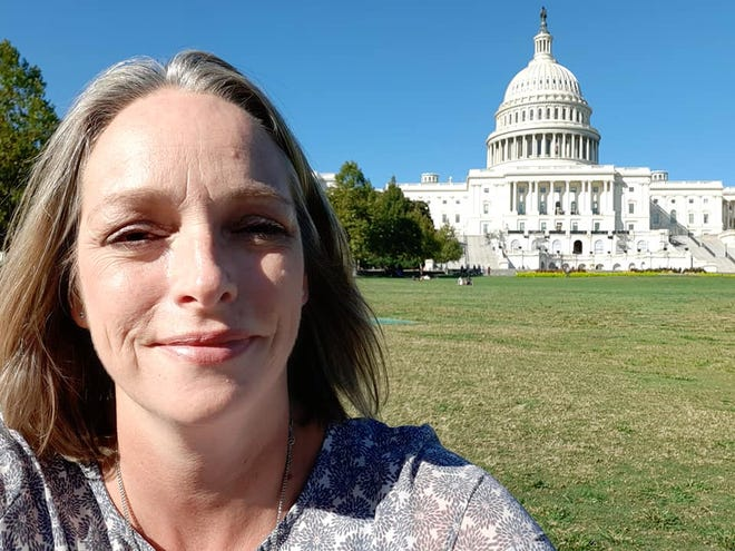 Dineke Lasater, eighth-grade science teacher at Lafayette Christian Academy, was one of 50 middle school science teachers selected for an all-expenses-paid trip to a professional development conference in Washington, D.C., Oct. 11-13.