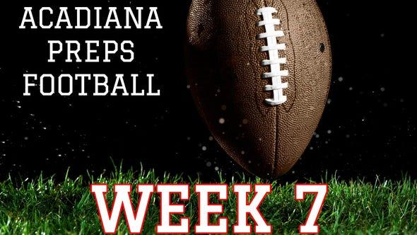 Acadiana Preps scoreboard Week 7