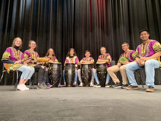 Two Rivers High School drumming students are preparing to participate in a Sister City music exchange.