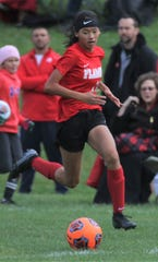 Mansfield Christian freshman Abby Little scored three goals in the Lady Flames 4-1 win over Van Buren to claim a sectional championship.