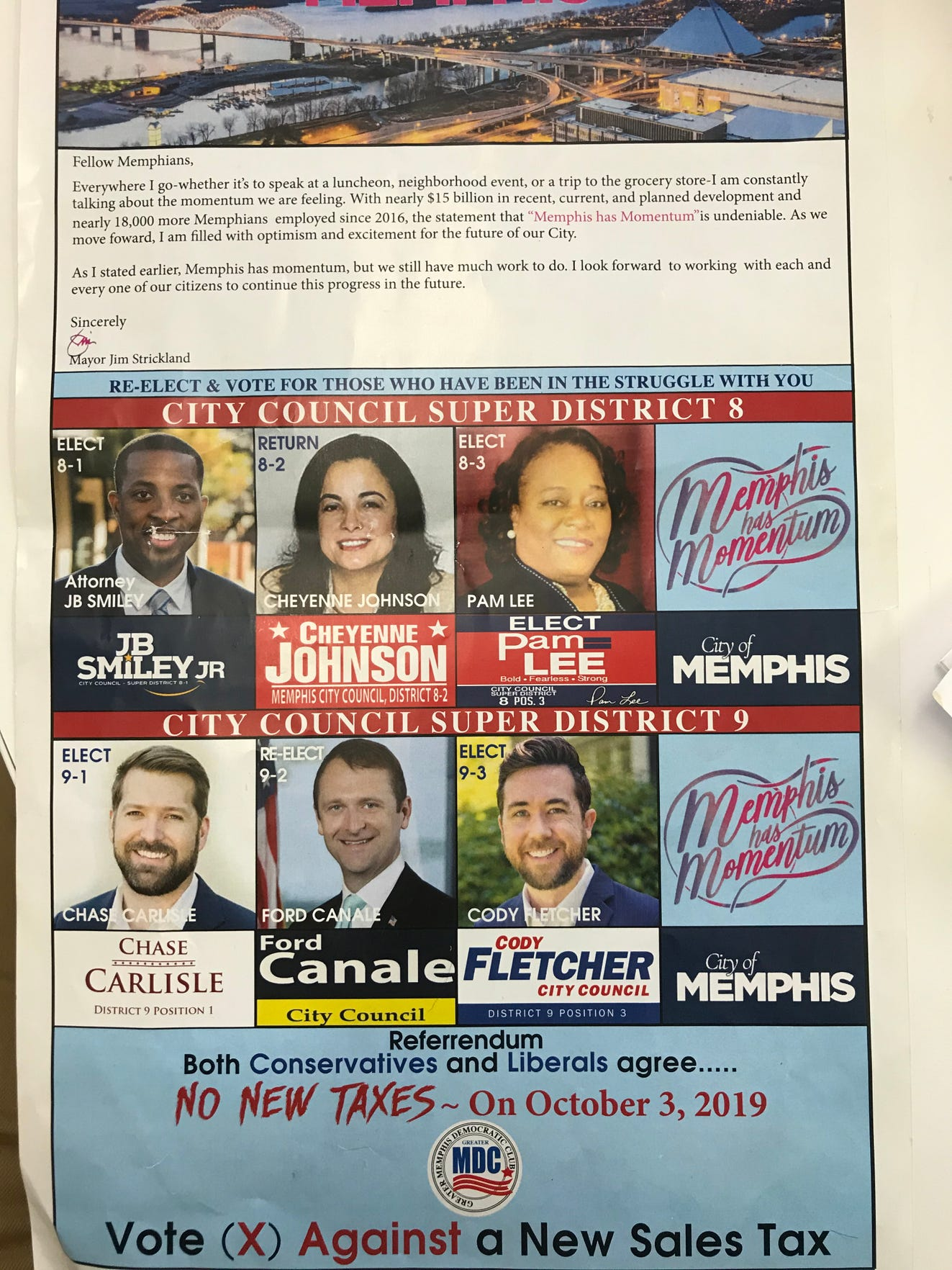 Caissa placed at least two clients on Gregory Grant's ballot, according to them, J. Ford Canale and Worth Morgan. Caissa and an associated entity have received at least $499,000 in campaign funds from Canale, Morgan and two other candidates who appear on the ballot — Chase Carlisle and Cody Fletcher.