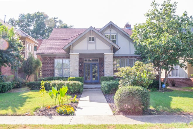 Andy and Madison Walker purchased this Evergreen District Tudor home after looking in East Memphis, Germantown and other areas.