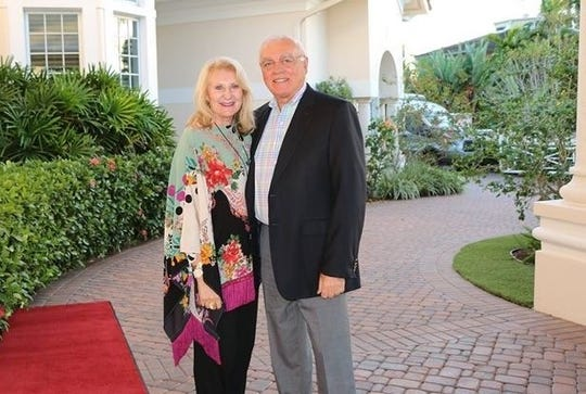 "Tish and Rene Champagne participated in the ""Revving Up For Rays"" event to benefit MIA's Capital Campaign on Feb. 22. ""The students at Marco Island Academy are worth investing in,"" Tish Champagne wrote. ""It is an honor to be involved in giving these students a firm knowledge base so that they can feel confident in determining their future."""
