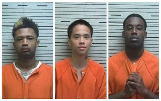 Garey Edwards, Phuoc Nguyen and Amir James were each charged with attempted murder and first-degree robbery.