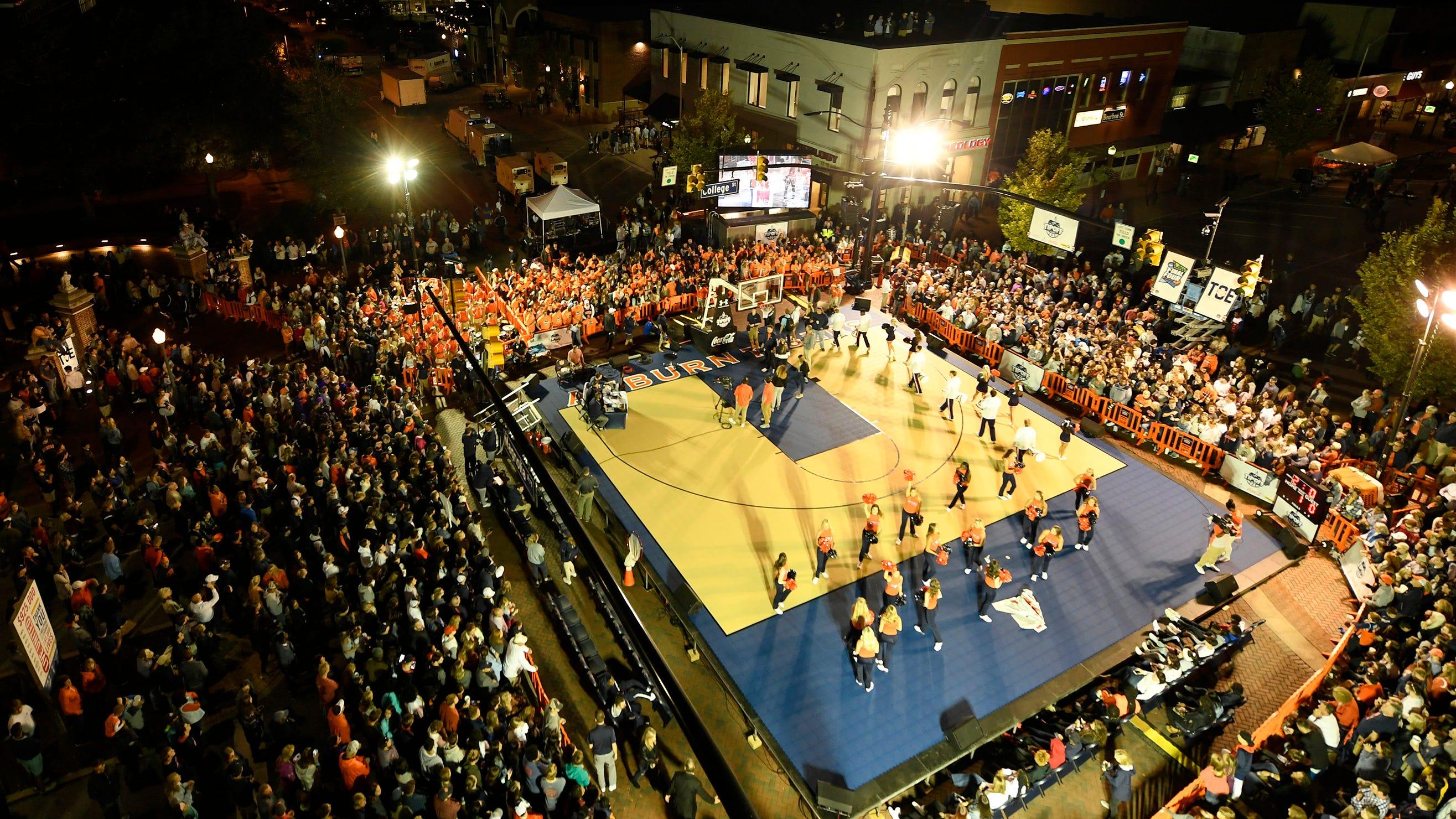 Tipoff at Toomer's showcases Auburn basketball