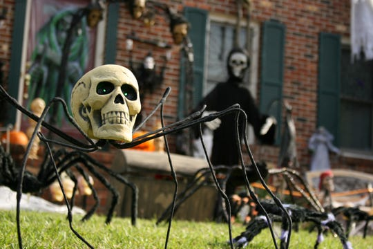 If your home is on the market, skip super scary or gory decorations, which might scare away families with small children.