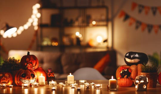 Halloween decorations are fun, but stick to a scented candle or two when your home is on the market. Cluttered surfaces may turn off potential home buyers.