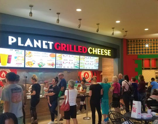 Started as a food truck in 2016 by French natives Laury Labussière and Arsène Torres, Planet Grilled Cheese is scheduled to expand to the Coastland Center after initial openings in Tampa Bay and Polk County.