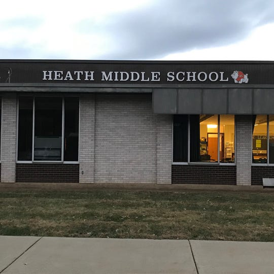 Heath Middle School, the former Heath High School which was built in 1961, is among the buildings in the district which need improvements.