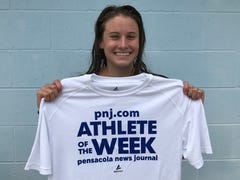 Pace swimming: Landry Hadder continues to break records, voted PNJ athlete of the week heading into postseason