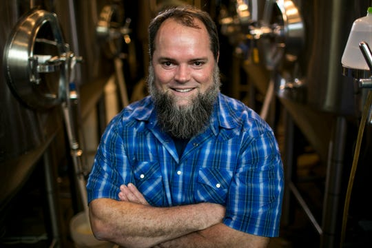 Derek Osborne is the brewmaster for Pedal Haus Brewing in Tempe.