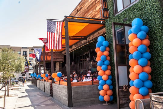 Broncos fans can come together and enjoy a game at Dierks Bentley's Whiskey Row, a popular country bar in Scottsdale.