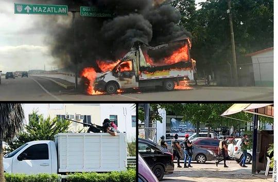 Violence in Culiacán, Mexico