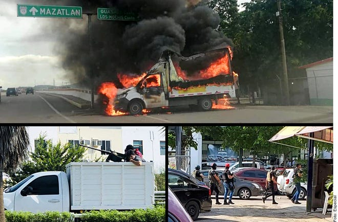 Violence in Culiacán, Mexico
