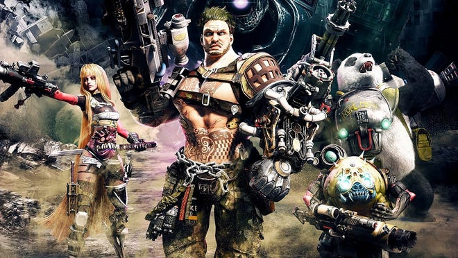 Contra: Rogue Corps for PC, PS4 and Xbox One.