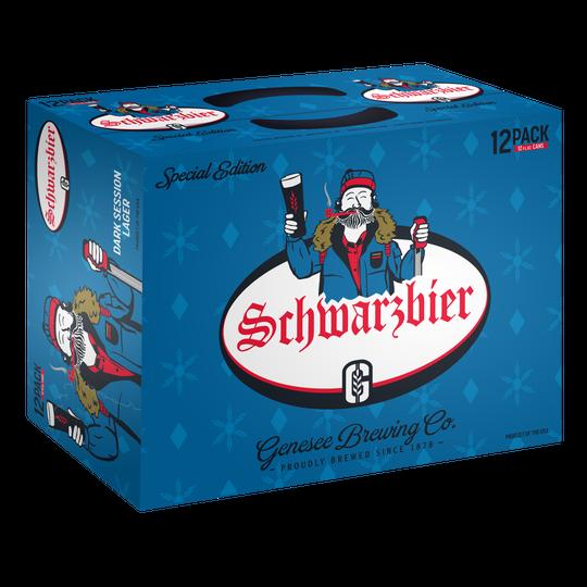 Genesee Schwarzbier 12 pack.